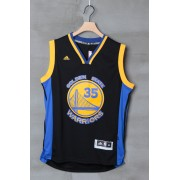 Golden State Warriors Basketball Trøjer 2015-16 Kevin Durant 35# Alternate..